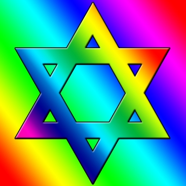 Rainbow-Star-of-David