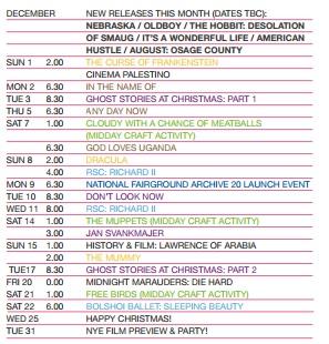 December Listings