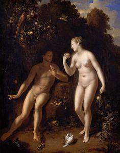 Adriaen van der Werff, Adam en Eva (c.1711)