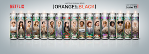 Orange is the New Black candles