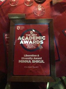 Minna Award